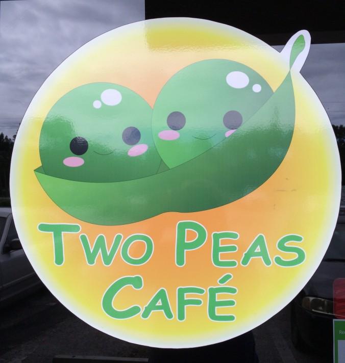 2 Peas Cafe sigh