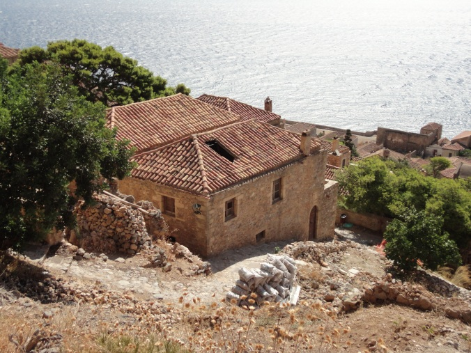 This is THE HOUSE in Monemvasia.