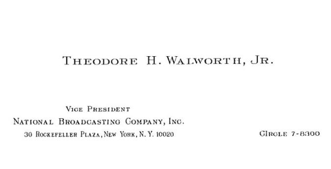 theodore walworth copy