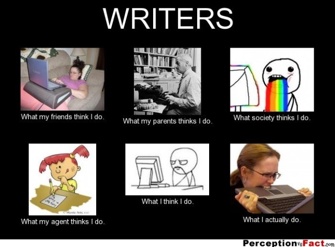 writer perceptions