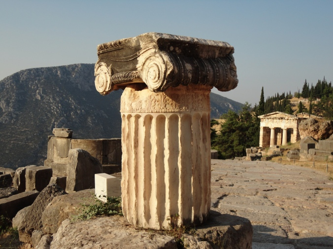 Preserved ioni column at Delphi.