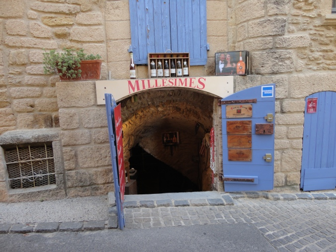 Wine tastings are available in these wine caves all along the main street.