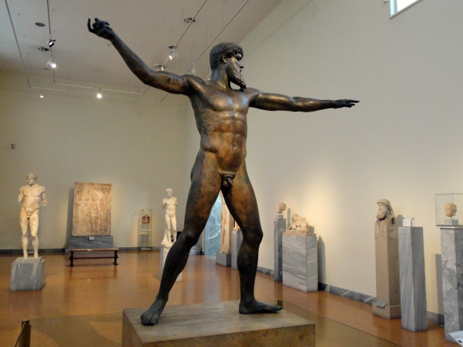 Striding Zeus