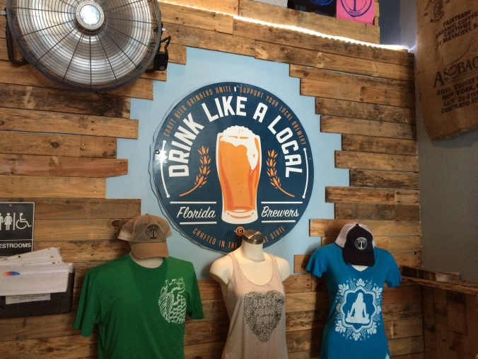 Drink like a local...sweaty!