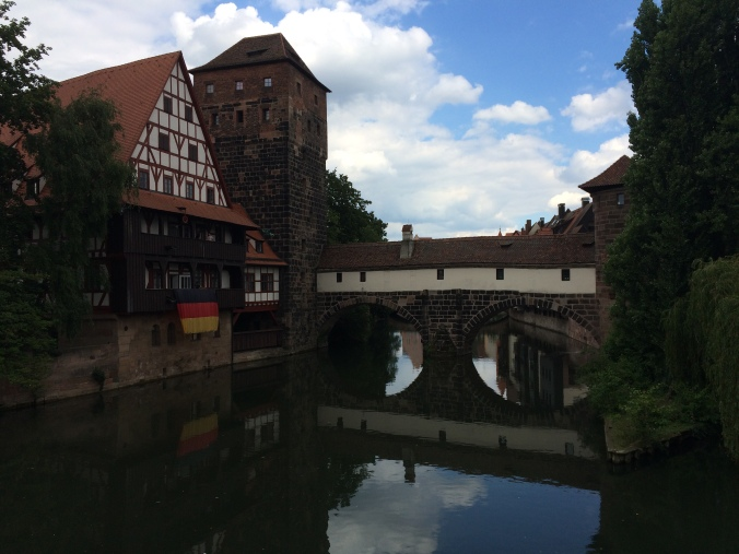 Nuremberg. Totally hideous, isn't it?