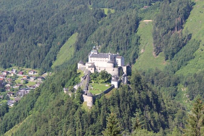 Burg Hohenwerfen, or the Schloss Adler.