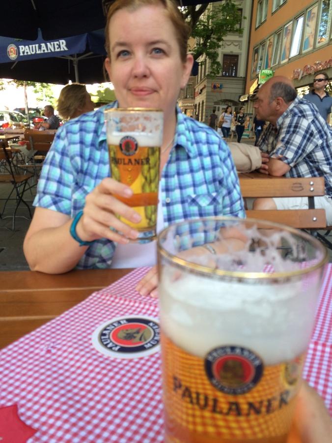 Munich: Beer good.