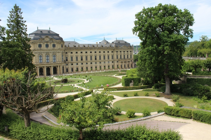 Palace at Wurzburg