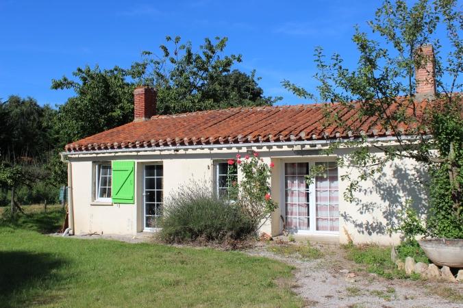 Stone farm house of Danielle and Sylvain.