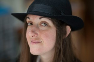 Frances Hardinge at home in London September 9, 2009