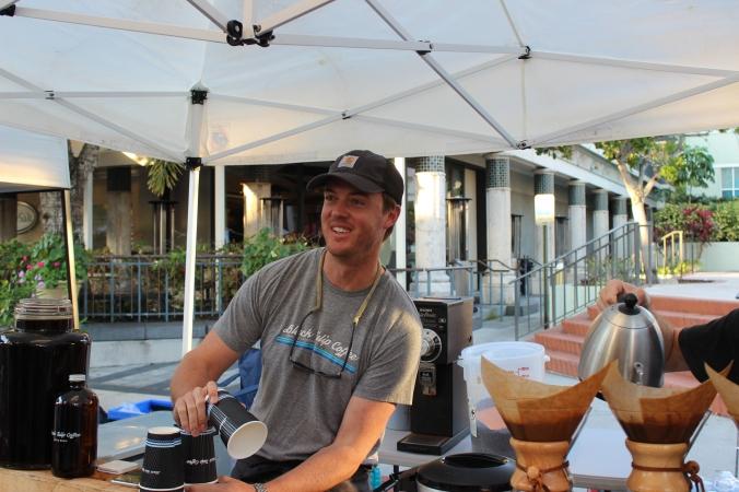 Andrew Daane of Black Tulip coffee.